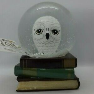 "Harry Potter HEDWIG Owl 4"" Snowglobe NWT"
